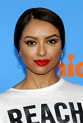 Kat Graham at the Nickelodeon's 2018 Kids' Choice Awards held at the Forum in Inglewood, USA on March 24, 2018.