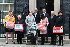 2017-02-09 Save Glenfield Children's Heart Centre petition delivered to Downing Street