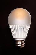 An energy efficient light bulb.