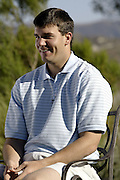 NFL players participating in the 2004 NFL Quarterback Challenge attend and play in an NFL Players Golf Event at Robinson Ranch Golf Course in Santa Clarita, CA on 04/23/2004. ©Paul Anthony Spinelli