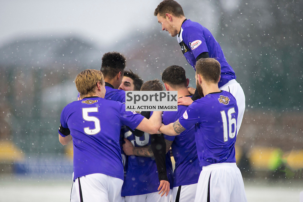 Annan Athletic v East Fife SPFL2 16 January 2016<br />