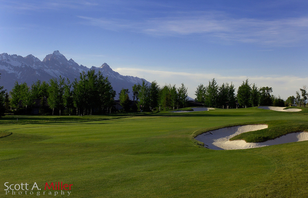 Jackson, Wyo.; June 6, 2006 - No. 7 at the Jackson Hole Golf and Tennis Club in Jackson, Wyo....©2006 Scott A. Miller