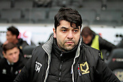 MK Dons Manager Dan Micciche before the EFL Sky Bet League 1 match between Milton Keynes Dons and Bristol Rovers at stadium:mk, Milton Keynes, England on 3 March 2018. Picture by Nigel Cole.