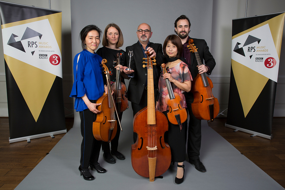 Fretwork collect RPS Music Award for Chamber & Song
