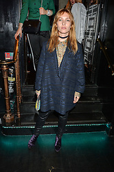 JOSEPHINE DE LA BAUME at a party to celebrate the UK launch of French fashion label ba&sh at The Arts Club, Dover Street, London on 15th March 2016.