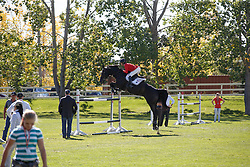 Madden Beezie, (USA), Cortes C <br /> Suncore Energy Cup<br /> Spruce Meadows Masters - Calgary 2015<br /> © Hippo Foto - Dirk Caremans<br /> 12/09/15