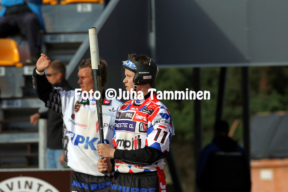 14.6.2011, Kouvola..Superpesis 2011, Kouvolan Pallonly?j?t  - Joensuun Maila..Tommi P?ivinen - JoMa...