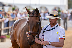 Laschet Hugo, BEL, Ichak De Monfirak<br /> European Championship Eventing<br /> Luhmuhlen 2019<br /> © Hippo Foto - Stefan Lafrentz