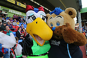 Alice the Eagle and Deewok - Crystal Palace v Dundee - Julian Speroni testimonial match at Selhurst Park<br /> <br />  - © David Young - www.davidyoungphoto.co.uk - email: davidyoungphoto@gmail.com