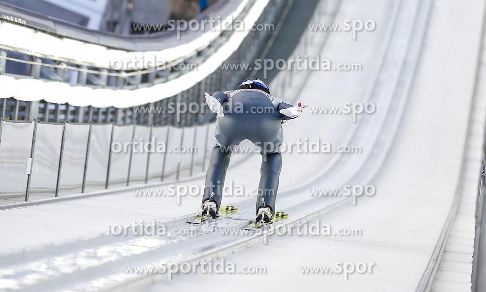 29.12.2015, Schattenbergschanze, Oberstdorf, GER, FIS Weltcup Ski Sprung, Vierschanzentournee, Probedurchgang, im Bild Gregor Schlierenzauer (AUT) // Gregor Schlierenzauer of Austria during his Trial Jump for the Four Hills Tournament of FIS Ski Jumping World Cup at the Schattenbergschanze, Oberstdorf, Germany on 2015/12/29. EXPA Pictures © 2015, PhotoCredit: EXPA/ Peter Rinderer