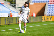 Leeds United defender Stuart Dallas (15) in action during the EFL Sky Bet Championship match between Wigan Athletic and Leeds United at the DW Stadium, Wigan, England on 17 August 2019.