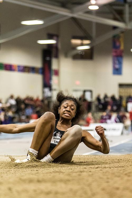 USATF Indoor Track & Field Championships: womens long jump, Malaikah Love