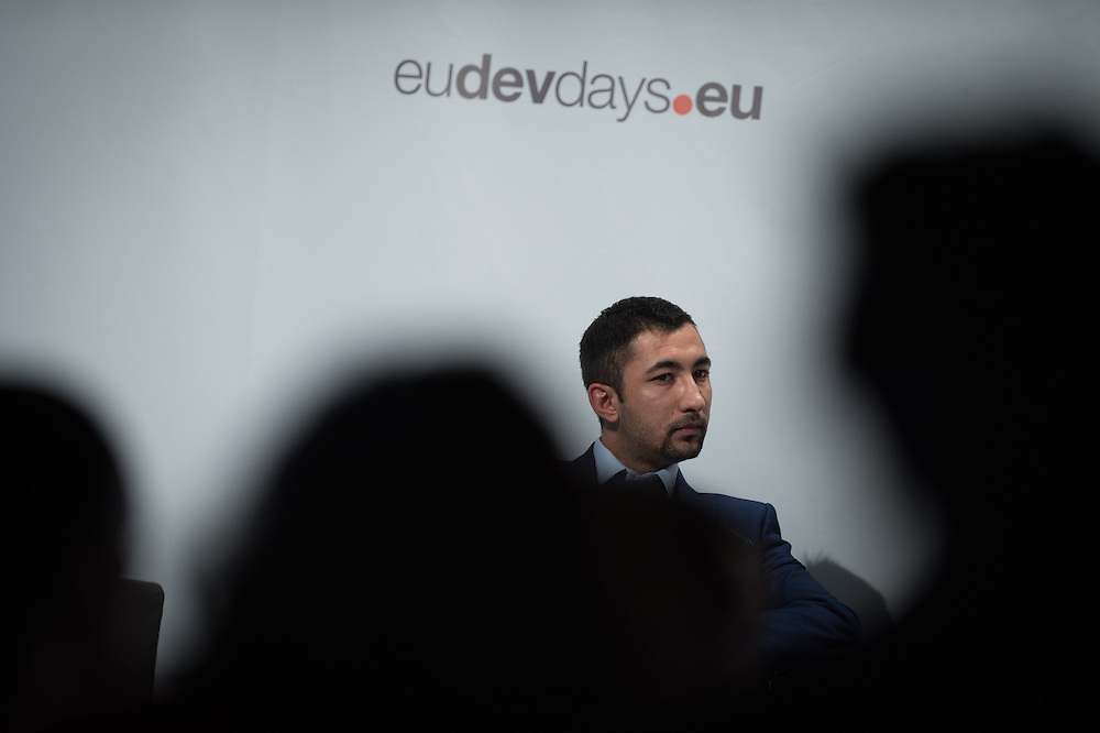 03 June 2015 - Belgium - Brussels - European Development Days - EDD - Inclusion - Social enterprise - Stemming the tide on income inequality - Daniel Mihajlovski , Future Leader © European Union