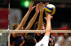 24-06-2000 JAP: OKT Volleybal 2000, Tokyo<br /> Nederland vs Argentinie 3-1 / Erna Brinkman, Francien Huurman