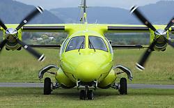 Westpac Mitsubishi mu-2b-60 air ambulance at the Tauranga City Airshow, Tauranga, New Zealand, Saturday, January 20,  2018. Credit:SNPA / Richard Moore **NO ARCHINVING**
