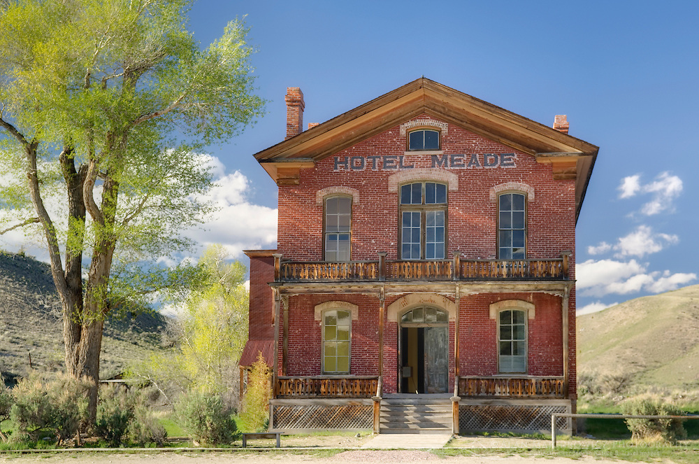 Historic Hotel Meade in Bannack State Park Montana