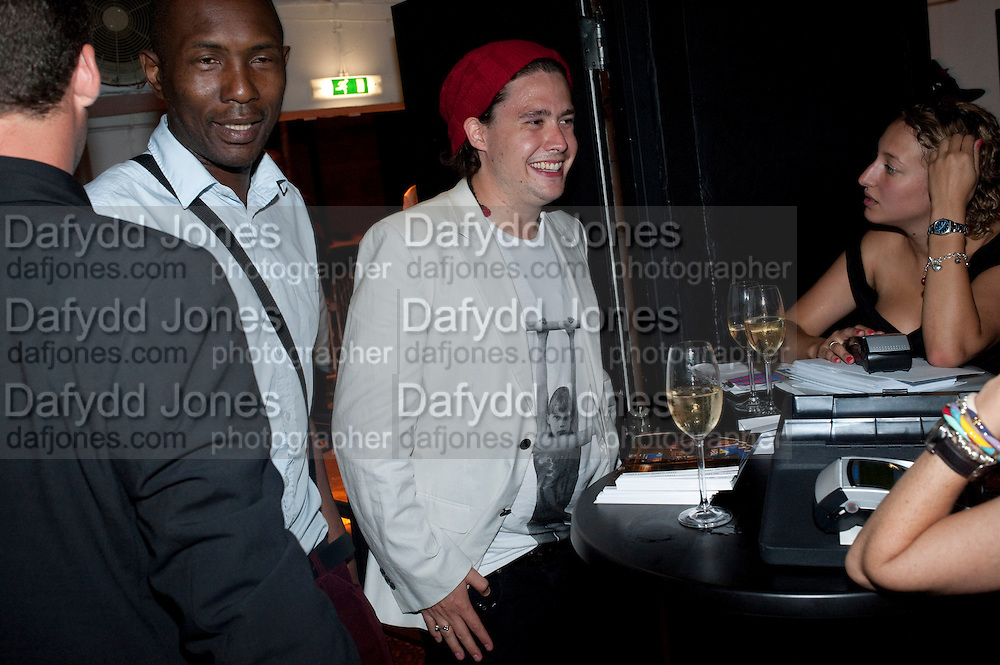 ADAM WAYMOUTH, Prada Congo Benefit party. Double Club. Torrens Place. Angel. London. 2 July 2009.