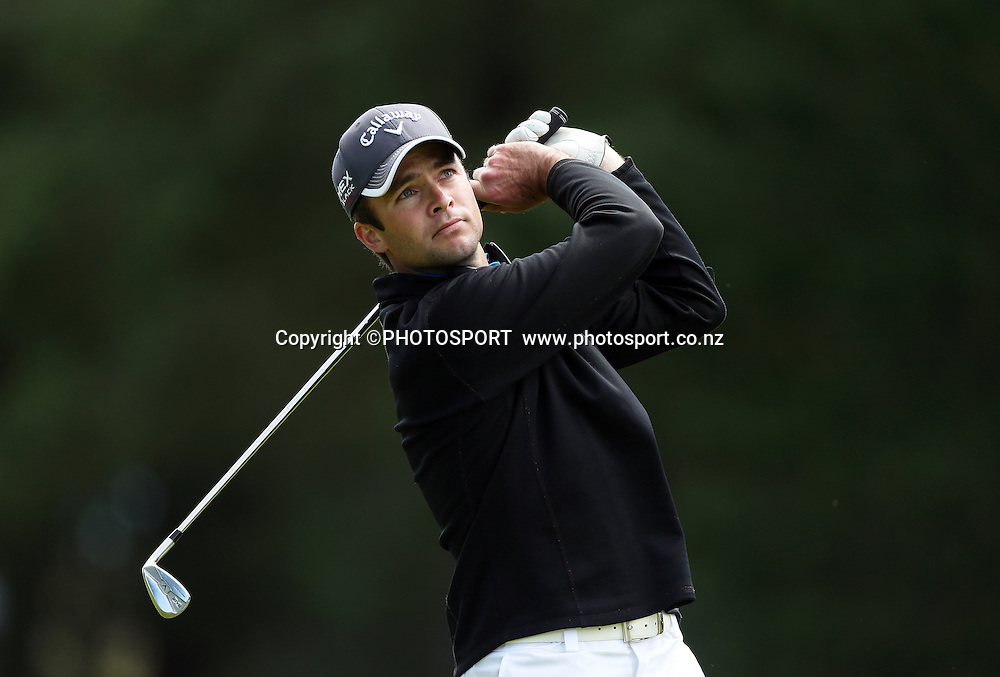 Craig Palmer. The Charles Tour - John Jones Steel 2012 Harewood Open. Harewood Golf Course, Christchurch, Friday 19 October 2012. Photo : Joseph Johnson/photosport.co.nz