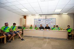 at press conference of Athletic association Slovenia before IAAF World Championship London 2017 on August 2, 2017, Ljubljana, Slovenia. Photo by Urban Urbanc / Sportida