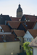 Dächer, Altstadt, Fachwerk, Bad Wildungen, Nordhessen, Hessen, Deutschland | roofs, old town, Bad Wildungen, Hesse, Germany