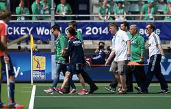 DEN HAAG - Rabobank Hockey World Cup<br /> 08 Korea - New Zealand<br /> Foto:<br /> COPYRIGHT FRANK UIJLENBROEK FFU PRESS AGENCY