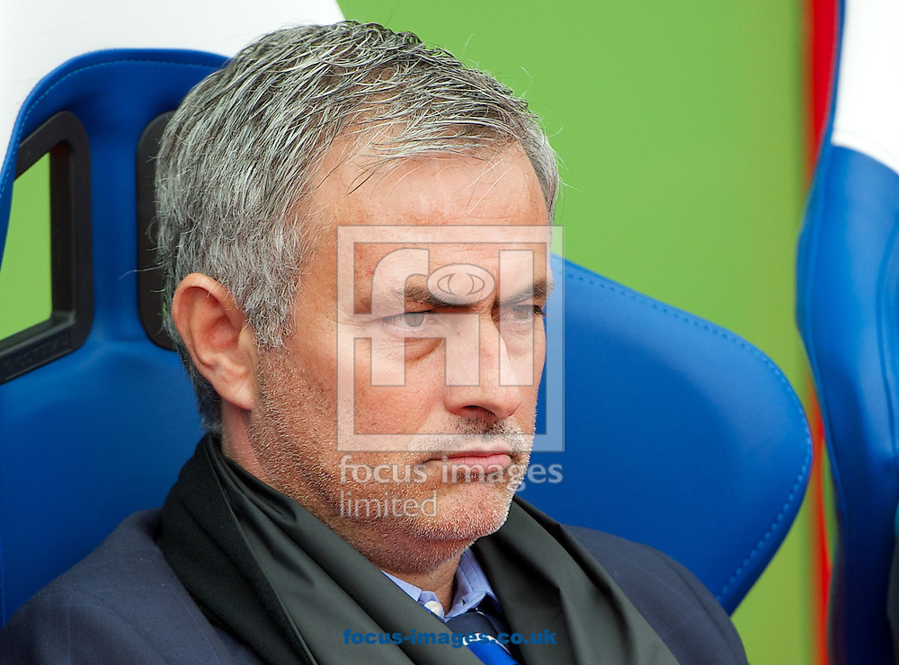 Manager Jose Mourinho of Chelsea before the Barclays Premier League match at Selhurst Park, London<br /> Picture by Alan Stanford/Focus Images Ltd +44 7915 056117<br /> 18/10/2014