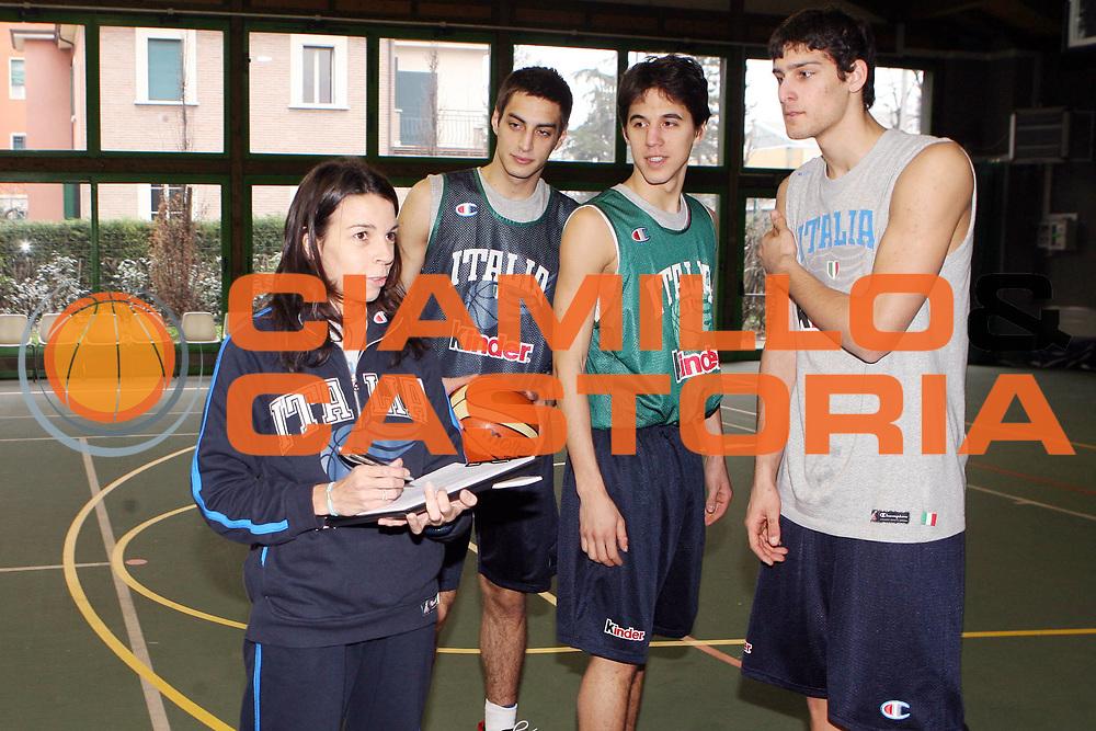 DESCRIZIONE : Bologna Coppa Italia 2006-07 Allenamento Nazionale Italiana Under 18<br /> GIOCATORE : Cutolo Saccaggi Tardito<br /> SQUADRA : Nazionale Italiana<br /> EVENTO : Campionato Lega A1 2006-2007 Tim Cup Final Eight Coppa Italia Camp Nazionale Italiana<br /> GARA : Allenamento Nazionale Italiana Under 18<br /> DATA : 08/02/2007<br /> CATEGORIA : Ritratto<br /> SPORT : Pallacanestro <br /> AUTORE : Agenzia Ciamillo-Castoria/G.Ciamillo<br /> Galleria : FIP Nazionale Italiana<br /> Fotonotizia : Bologna Coppa Italia 2006-2007 Allenamento Nazionale Italiana Under 18<br /> Predefinita :