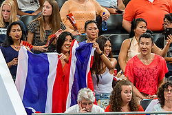 07-07-2017 NED: World Grand Prix Japan - Thailand, Apeldoorn<br /> Second match of first weekend of group C during the World Grand Prix / Thailand support