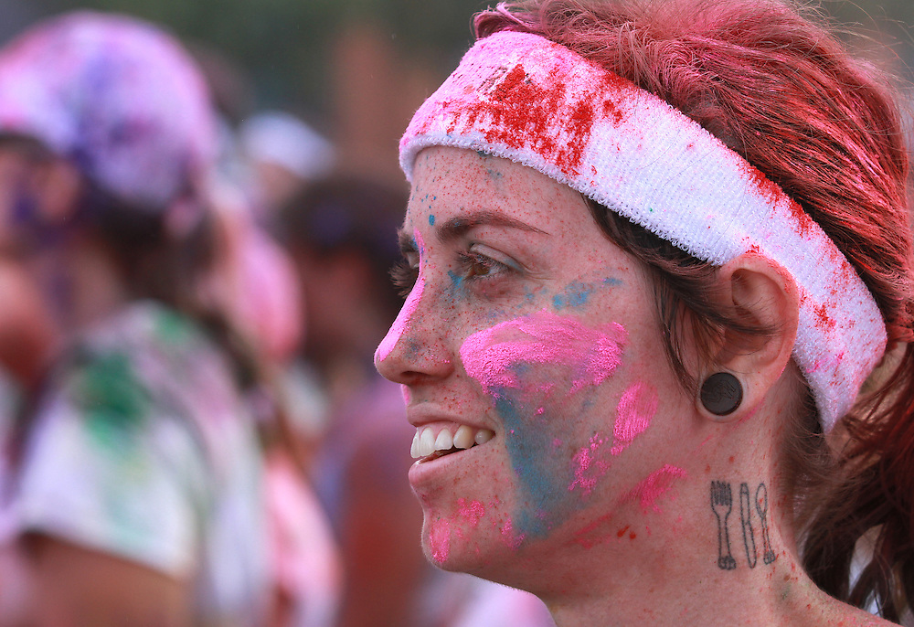 Color Run, Indianapolis, Indiana.