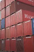 Port of Felixstowe, Suffolk, England. UK's busiest container port.