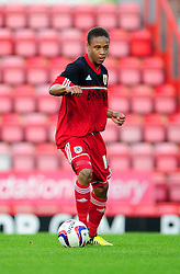 Bristol City U21's Bobby Reid - Photo mandatory by-line: Dougie Allward/Josephmeredith.com  - Tel: Mobile:07966 386802 04/09/2012 - SPORT - FOOTBALL - Professional Development League -  Bristol  - Ashton Gate -  Bristol City U21s v Brentford U21s