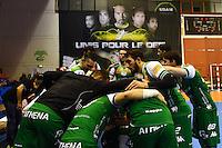 Equipe de Nimes  - 01.04.2015 - Nimes / Saint Raphael - 19eme journee de Division 1<br />Photo : Andre Delon / Icon Sport