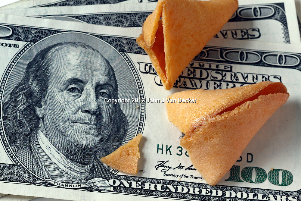 Fortune cookie money.<br />