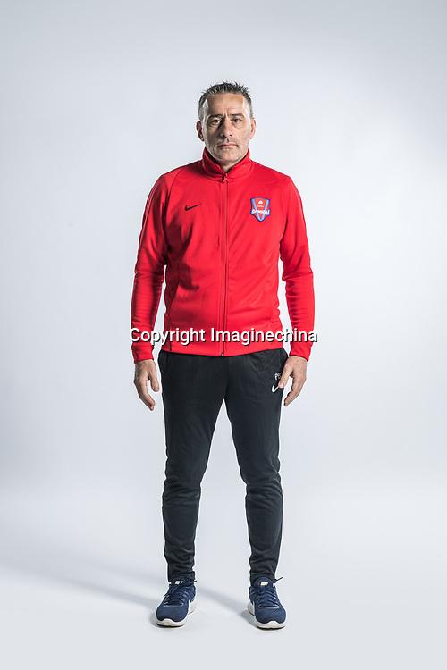 **EXCLUSIVE**Portrait of head coach Paulo Bento of Chongqing Dangdai Lifan F.C. SWM Team for the 2018 Chinese Football Association Super League, in Chongqing, China, 27 February 2018.