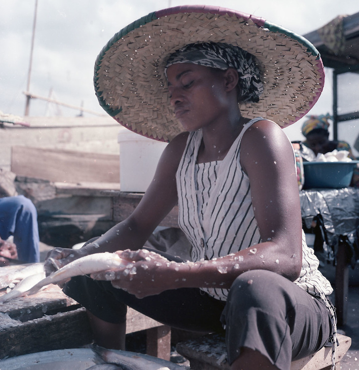James Town fishing harbour, Accra, Ghana 2011