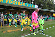 Hitchin Town v Norwich City 140715