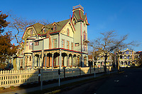 The Abbey, Beautiful victorian architecture in Cape May, New Jersey.