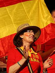 A Spain fan