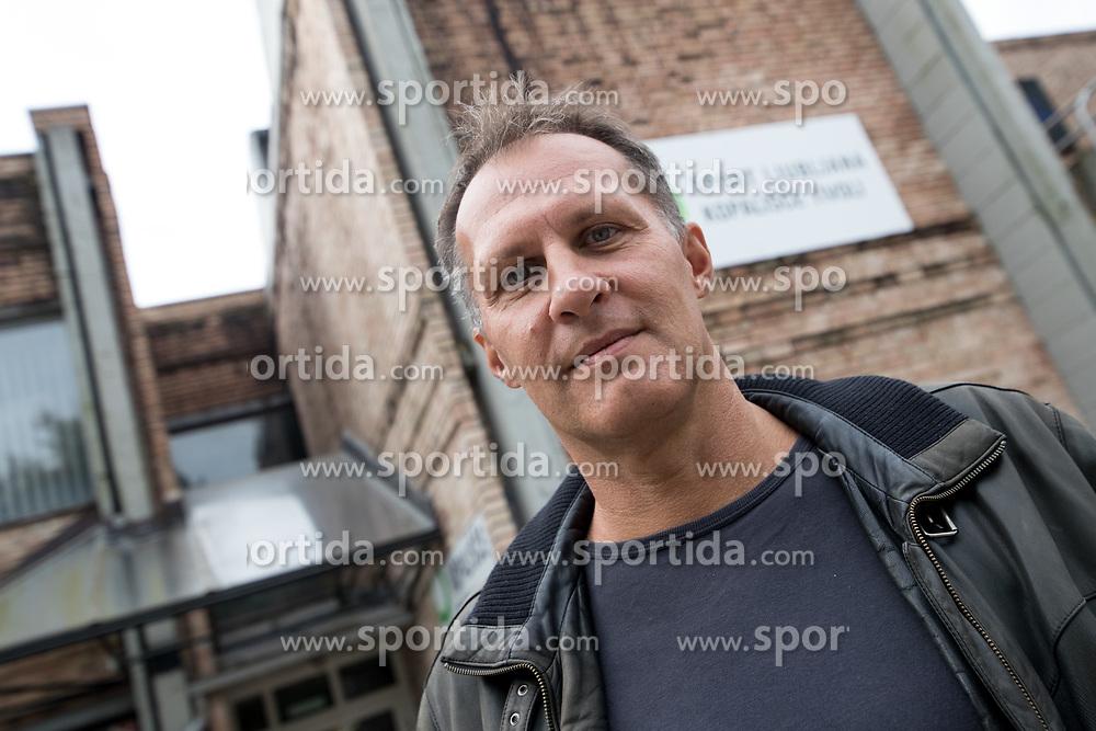 Portrait of ex-swimmer Nace Majcen, on September 22, 2017 in Ljubljana, Slovenia. Photo by Matic Klansek Velej / Sportida