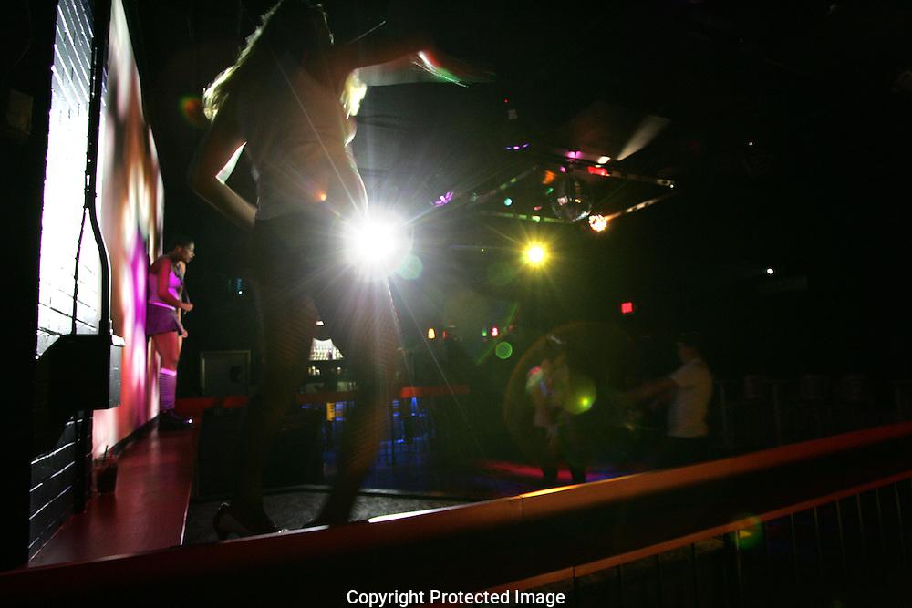 Professional dancers at Liquid...Liquid Bar.1100 N. High St., .Short North