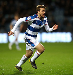 Queens Park Rangers' Luke Freeman during the Sky Bet Championship match at Loftus Road, London.