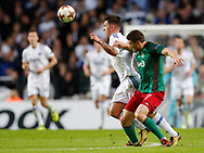 FOOTBALL: Benjamin Verbič (FC København) and Taras Mikhalik (Lokomotiv Moskva) during the UEFA Europa League Group F match between FC København and FC Lokomotiv Moskva at Parken Stadium, Copenhagen, Denmark on September 14, 2017. Photo: Claus Birch