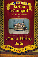 North of England section Transport & General Workers Union banner