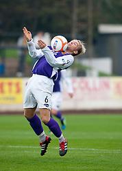 Annan Athletic's Bryan Gilfillan..Berwick Rangers 0 v 1 Annan Athletic, 1/10/2011..Pic © Michael Schofield.