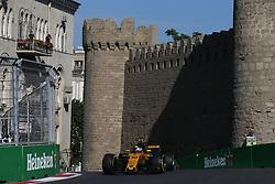 June 23, 2017 - Baku, Azerbaijan - Motorsports: FIA Formula One World Championship 2017, Grand Prix of Europe, .#30 Jolyon Palmer (GBR, Renault Sport F1 Team) (Credit Image: © Hoch Zwei via ZUMA Wire)