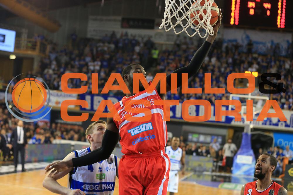 Anosike O.D.<br /> Germani Basket Brescia vs Openjobmetis Varese<br /> Lega Basket Serie A 2016/2017<br /> Citt&agrave; 19/03/2017<br /> Foto Ciamillo-Castoria/A.Gilardi