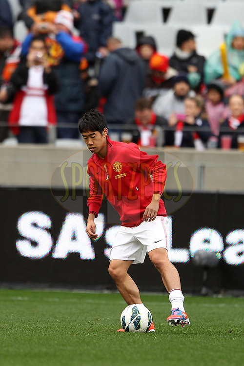 Shinji Kagawa of Manchester United during the pre-season match between Ajax Cape Town and Manchester United held at the Cape Town Stadium in Greenpoint, Cape Town on the 21st July 2012.Photo by Ron Gaunt/SPORTZPICS