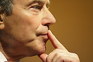 JAMES BOARDMAN / 07967642437 - 01444 412089.Tony Blair takes questions after his last speech to the TUC at there annual Conference in Brighton 12 September 2006.