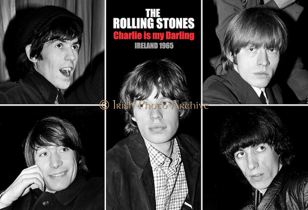 Rolling Stones Poster.Charlie is my Darling.Ireland 1965