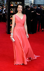 Kristin Davis attends The Laurence Olivier Awards at the Royal Opera House, London, United Kingdom. Sunday, 13th April 2014. Picture by i-Images